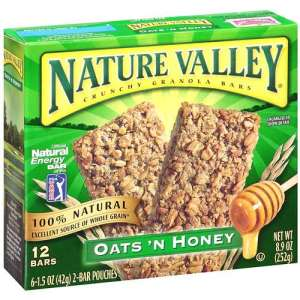 Secondary Consumer Granola Packaging