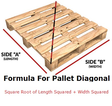 Formula For Pallet Diagonal