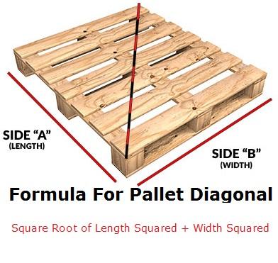 Formula For Pallet Diagonal