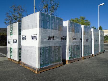 Outdoor Plastic Wrap Storage