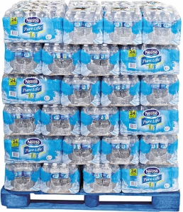 Pallet of Bottled Water