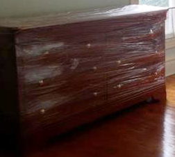 Stretch Wrapped Furniture